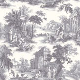 Cole & Son Villandry Charcoal Grey Wallpaper - Product code: 99/1003