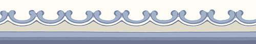 Cole & Son Broderie Border Blue - Product code: 99/14058