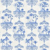 Cole & Son Rousseau Cobalt Blue Wallpaper - Product code: 99/9037
