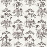 Cole & Son Rousseau Charcoal Wallpaper