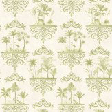 Cole & Son Rousseau Old Olive Wallpaper - Product code: 99/9040