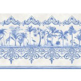 Cole & Son Rousseau Border Cobalt Blue - Product code: 99/10042