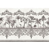 Cole & Son Rousseau Border Charcoal - Product code: 99/10044