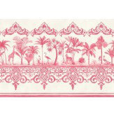 Cole & Son Rousseau Border Rose Pink - Product code: 99/10046