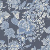 Cole & Son Tivoli Blue Wallpaper