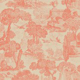 Cole & Son Versailles Coral Wallpaper - Product code: 99/15060