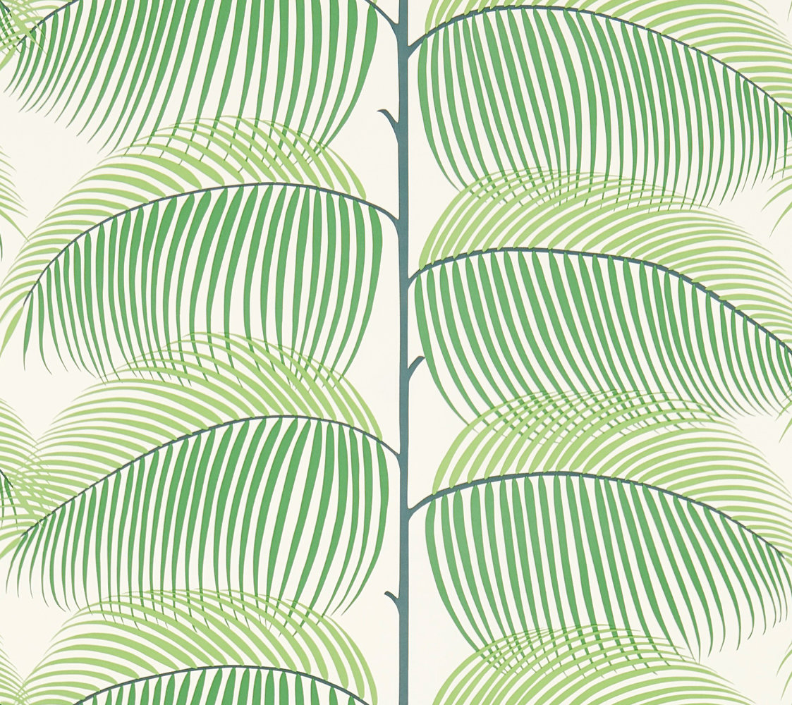 Sanderson Manila Green Wallpaper main image