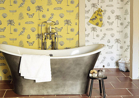 Sanderson Cocos Yellow Wallpaper