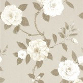 Sanderson Christabel Beige / Taupe / Cream Wallpaper