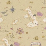 Sanderson Galapagos Taupe / Multi Wallpaper - Product code: 213363