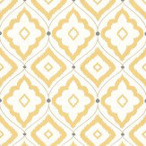 Thibaut Bungalow Yellow / Taupe Wallpaper - Product code: T16054