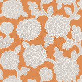 Thibaut Nikko Orange Wallpaper