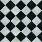 Coordonne Marble Chess Black / White Wallpaper
