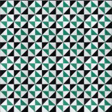 Coordonne Fez Teal / Black / Off White Wallpaper