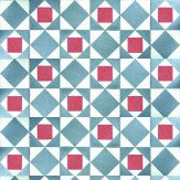 Coordonne Kaleido Blue / Red Wallpaper