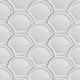 Coordonne Scales Off White Wallpaper