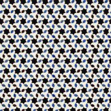 Coordonne Tarifa Black / Off White / Blue Wallpaper