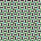 Coordonne Toro Black / Green Wallpaper