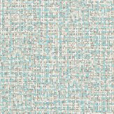 Harlequin Tota Blue / Beige / White Wallpaper