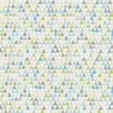 Harlequin Lulu Seaglass Blue / Slate Wallpaper