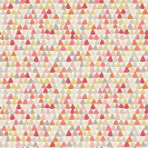 Harlequin Lulu Coral / Yellow  Wallpaper