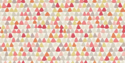 Harlequin Lulu Coral / Yellow  Wallpaper main image