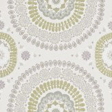 Harlequin Boheme Dovetail Grey / Green Wallpaper