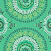 Harlequin Boheme Emerald Green Wallpaper
