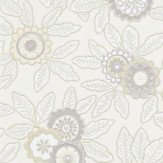 Harlequin Eden Linen / Chalk Wallpaper - Product code: 110681
