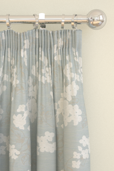 Clarke & Clarke Clarendon  Duckegg Curtains