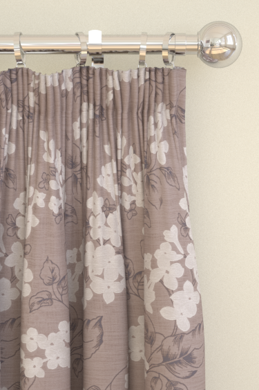 Clarke & Clarke Clarendon  Heather Curtains