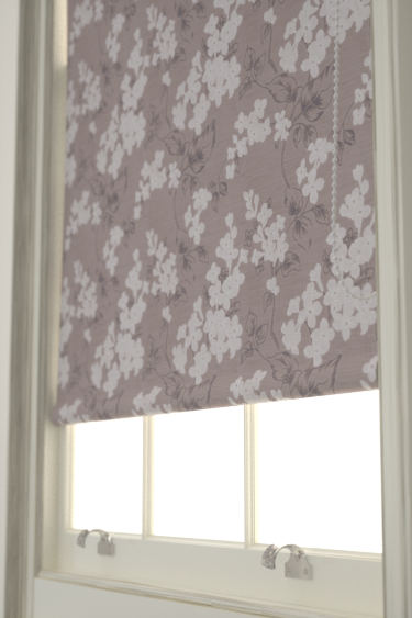 Clarke & Clarke Clarendon  Heather Blind