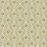 Little Greene Whitehall  Moutarde Wallpaper