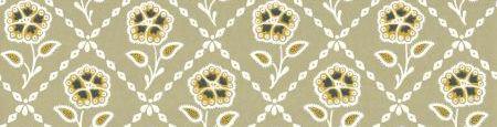 Little Greene Whitehall  Moutarde Wallpaper - Product code: 0284WHMOUTA