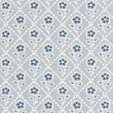 Little Greene Whitehall  Prussian Wallpaper - Product code: 0284WHPRUSS