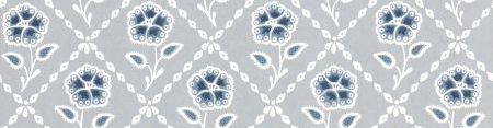 Little Greene Whitehall  Prussian Wallpaper - Product code: 0284WHPRUSS