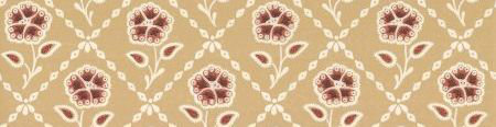 Little Greene Whitehall  Cedar Wallpaper main image