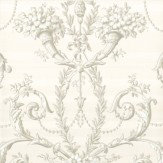 Little Greene Versailles  Argent Wallpaper