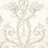 Little Greene Versailles  Argent Wallpaper