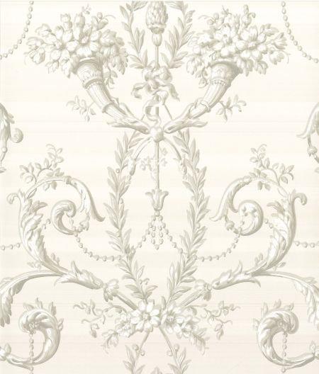 Little Greene Versailles  Argent Wallpaper - Product code: 0284VEARGEN