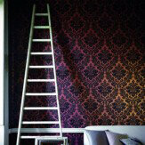 Little Greene Bonaparte  Red Gold Wallpaper - Product code: 0284BPREDGO