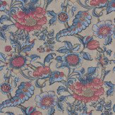Little Greene Sackville Street  Saphir Wallpaper