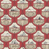 Albany Overture  Red Wallpaper