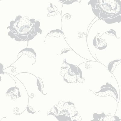 Albany Candide  Silver Wallpaper main image