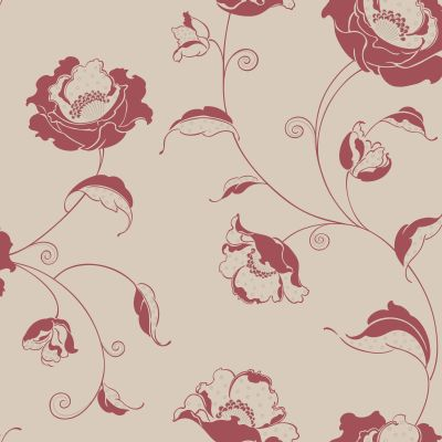 Albany Candide  Red Wallpaper - Product code: 264684
