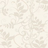 Albany Symphony  White Cream Wallpaper