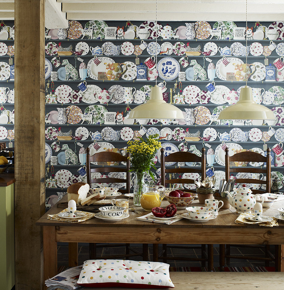 Emma Bridgewater The Dresser Wallpaper main image