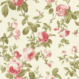 Albany Roselle Feature Wallpaper