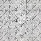 Anaglypta Deco Paradiso Paintable White Wallpaper
