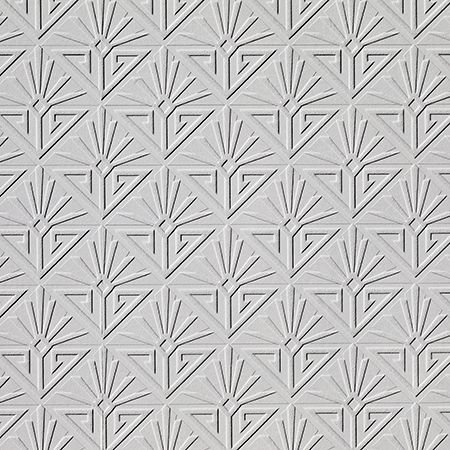 Deco Paradiso Wallpaper - Paintable White - by Anaglypta